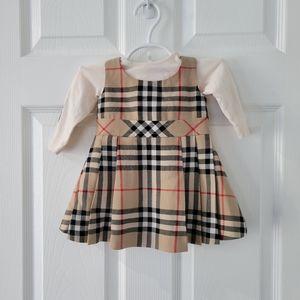 Burberry Check Dress - 6M